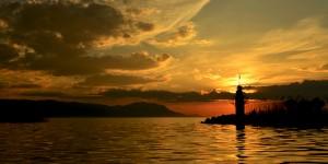 İznik Gölü'nde Büyülü Günbatımları -92