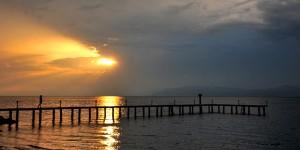 İznik Gölü'nde Büyülü Günbatımları -79