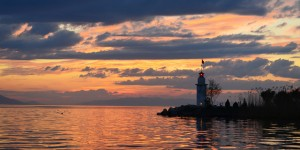 İznik Gölü'nde Büyülü Günbatımları -105