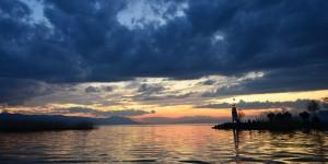 İznik Gölü'nde Büyülü Günbatımları -94