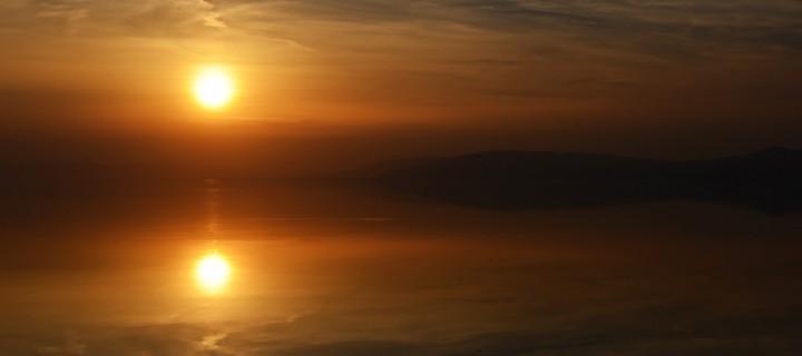 İznik Gölü'nde Büyülü Günbatımları -98