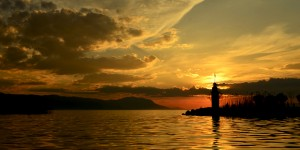İznik Gölü'nde Büyülü Günbatımları -101