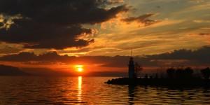 İznik Gölü'nde Büyülü Günbatımları -103