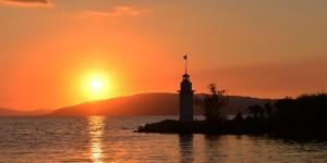 İznik Gölü'nde Büyülü Günbatımları -111