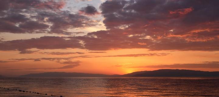 İznik Gölü'nde Büyülü Günbatımları -112
