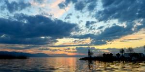 İznik Gölü'nde Büyülü Günbatımları -102