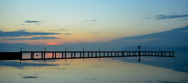 Bir Gölün Atmosferinde Bahar-10