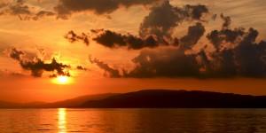 İznik Gölü'nde Büyülü Günbatımları -117