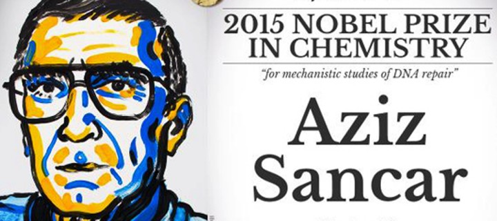 UNESCO 2015 Nobel Kimya Ödülünü Kazanan Türk Bilim Adamı Aziz Sancar'ı Kutluyor