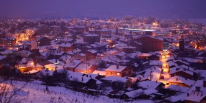 Pazaryeri'de Kış Gecesi