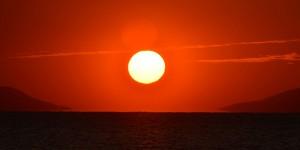 İznik Gölü'nde Öyle Bir Gün Batar ki…