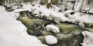 Sadağı Kanyonu'nda Kış