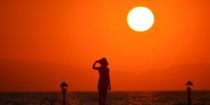 İznik'te Günbatımı