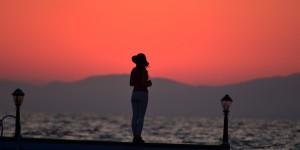 İznik Gölü'nde Büyülü Günbatımları