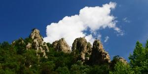 Sadağı Kanyonu'nun da Bahar