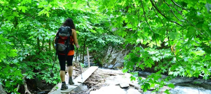 Sadağı Kanyonu'nda Trekking