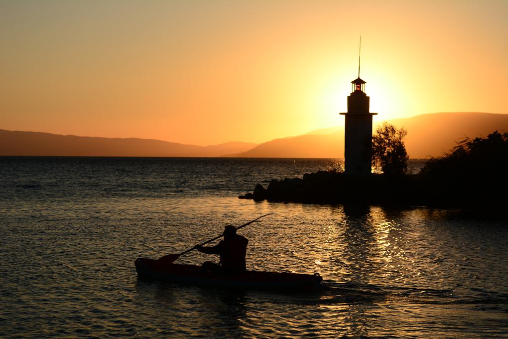 iznik golu deniz feneri ve kano