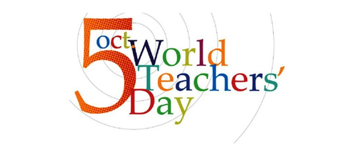 5 Ekim / Dünya Öğretmenler Günü. Dünya Çocuk Günü. Dünya Konut Günü