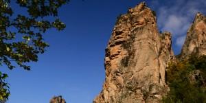 Sadağı Kanyonu'nda Bir Güz Günü