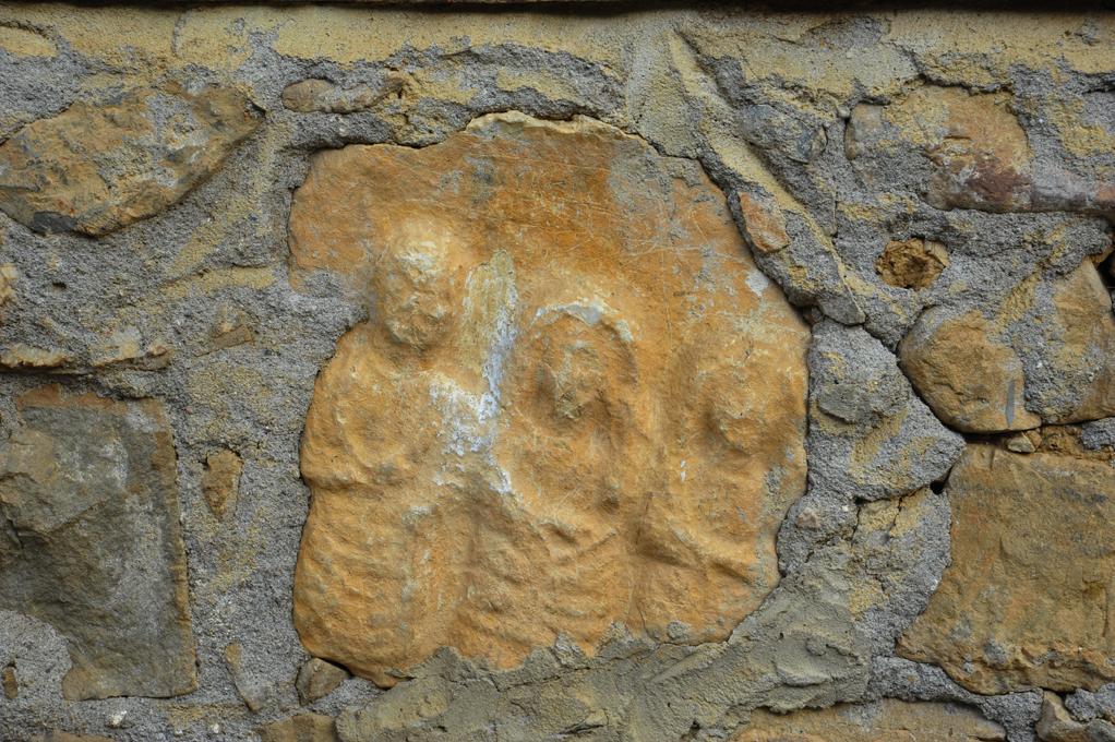 duvarlarda antik izler