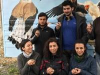 22 Nisan Dünya Günü'nü Kuşlarla Kutladı