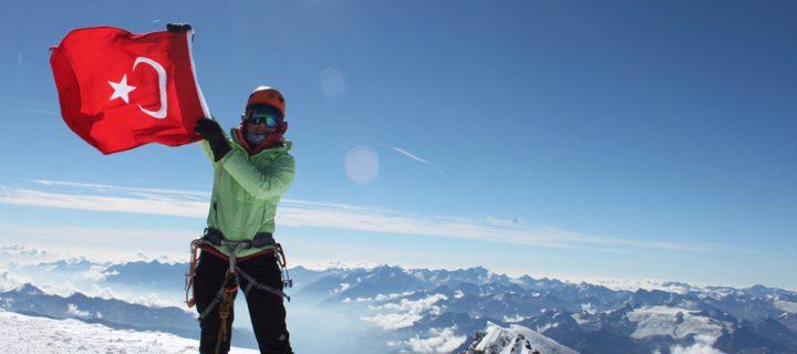 Alplerin Beyaz Hanımefendisi; Mont Blanc