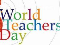 5 Ekim / Dünya Öğretmenler Günü. Dünya Çocuk Günü. Dünya Mimarlar Günü